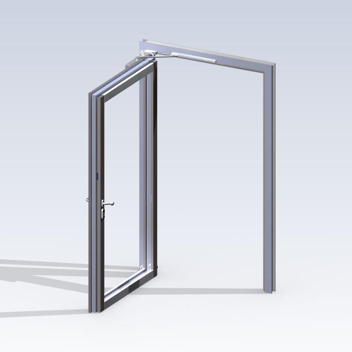 System P2001 mit Blockzarge - offen