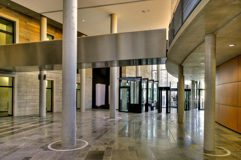 Eingangsbereich Justizpalast