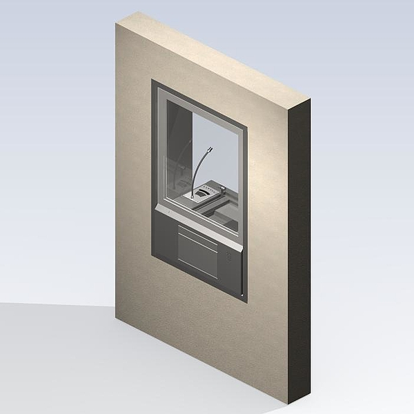 Glazed counter P8021
